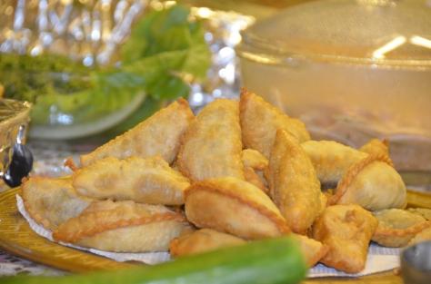 Sambousa - a favorite during Ramadan in Saudi Arabia