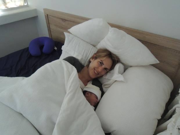 Newborn day-naps and snuggles